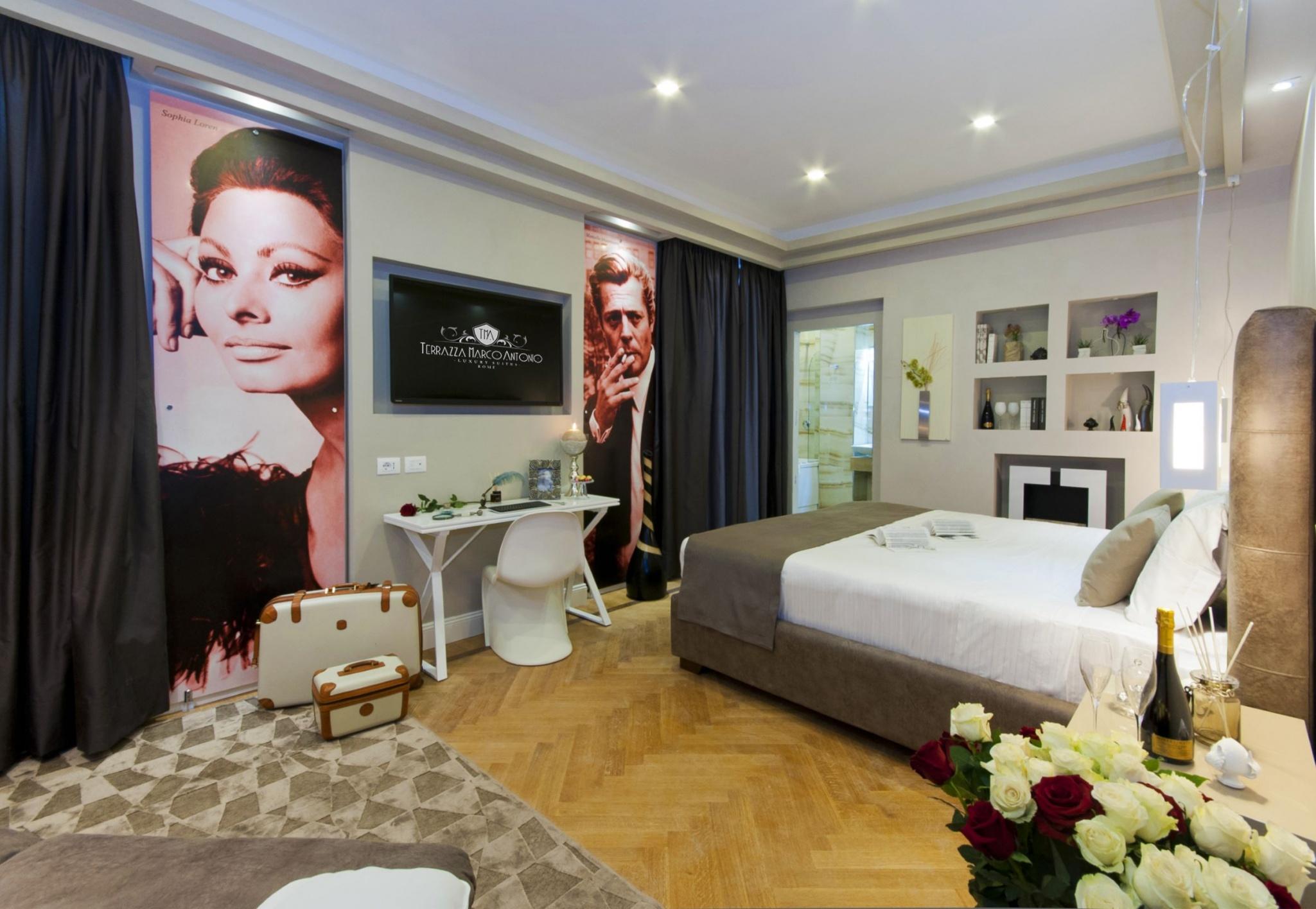 Rooms Terrazza Marco Antonio Luxury Suite Rome