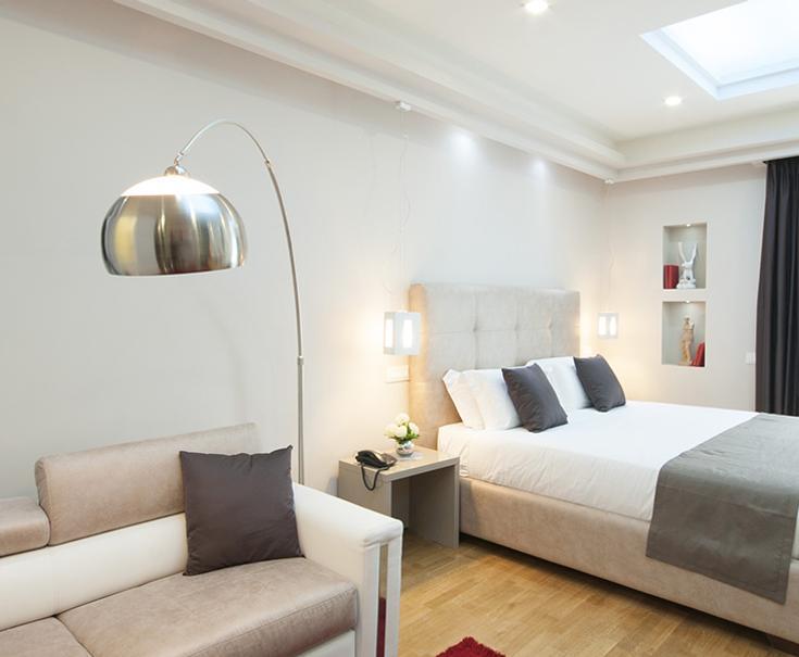 Suite Deluxe With Terrace Terrazza Marco Antonio Luxury