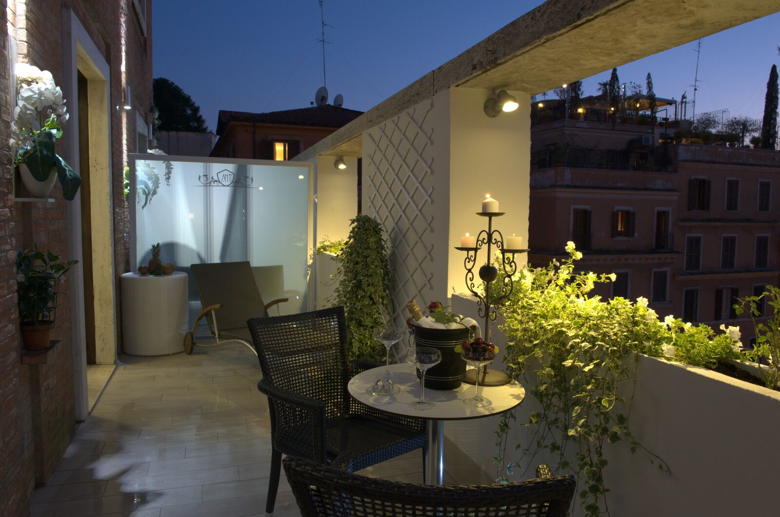 Terrazza Marco Antonio Luxury Suite Rome Welcome Official Website