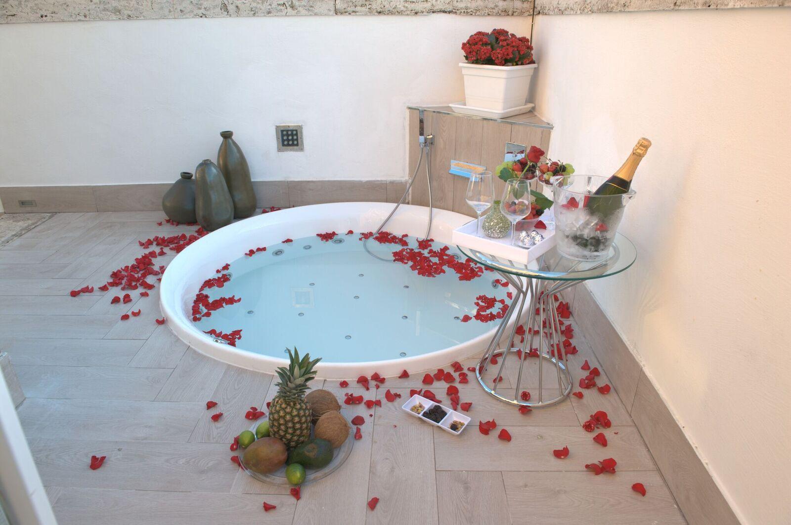 The Presidential Suite Terrazza Marco Antonio Luxury Suite Rome